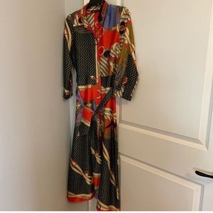 Zara Dress. Worn once. Beautiful dress!